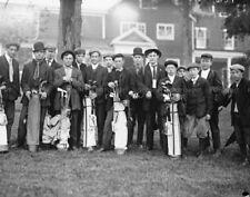 Vintage Golf BALTRUSOL CADDIES Photo Picture CLUB Photograph Print 8x10 or 11x14
