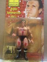Legends of Professional Wrestling Bruno Sammartino Bloody  Version Series 7 NEW
