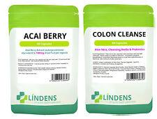高效力的acai 阿薩伊漿果結腸清洗組合包 - 排毒極致,減肥,脂肪燃燒