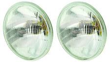 """7"""" Semi Sealed Beam 178mm Round High / Low Beam Headlight H4 Type x 2 4007BS"""