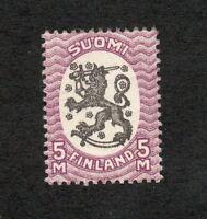 Finland - Sc# 107 MH      /      Lot 0520179