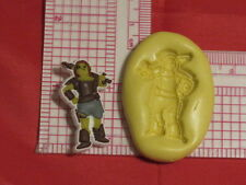 Green Ogre Girl Silicone Push Mold #100 Cake Pop Topper Decoration Fondant