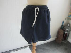 "Mens M&S Blue Harbour Navy Swimming Shorts Size M (33"" 35"" Waist)"