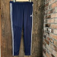 Adidas Tapered FitSize L Men's Football/Soccer Pants - Blue/White Climacool