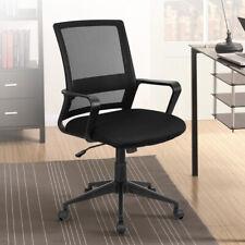 Home Office Chair Desk Mid Back Ergonomic Executive Adjustable Height Swivel