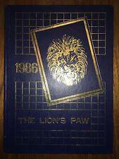 Lutheran High School of Dallas TX ORIGINAL 1986 yearbook history genealogy