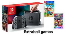 Nintendo Switch Grey Joy-con Mario Rabbids Kingdom Battle