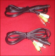 Stereo A/V Audio Video Cable for Sega Genesis 1 & 2 & 3 32X CDX Nomad System NEW