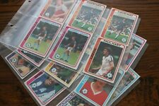 TOPPS GUM FOOTBALLERS (PALE BLUE BACK,1-396) PICK YOUR CARDS, 1979