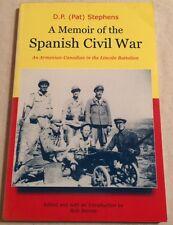 SPANISH CIVIL WAR MEMOIR by ARMENIAN CANADIAN IN LINCOLN BATTALION Armenia Spain