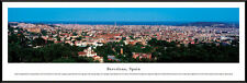 Barcelona, Spain | Professionally Framed Panorama Poster