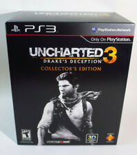 Uncharted 3 Drake's Deception Collector's Edition (for Playstation 3 PS3) NEW