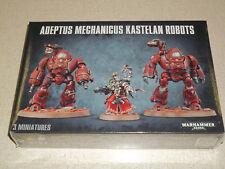 Warhammer 40K ADEPTUS MECHANICUS KASTELAN ROBOTS Box Set! New+Sealed!