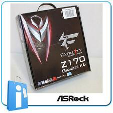 Placa base ATX ASRock Z170 GAMING K6 Socket 1151 con Accesorios