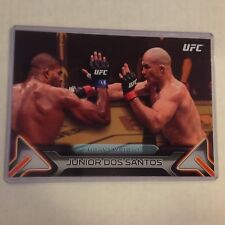 JUNIOR DOS SANTOS #60 2016 Topps Knockout fighter MMA 5X7 UFC GOLD 03/10 made