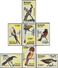 Nicaragua 2943-2949 (compleet Editie) postfris MNH 1989 Vogels