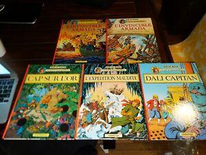 Lot of 5 Cori Le Moussaillon French Belgian Comic Books Full Series Bob De Moor
