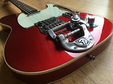 FENDER '62 RI TELECASTER CANDY APPLE RED w/ FACTORY BIGSBY FULLY BOUND JAPAN CIJ