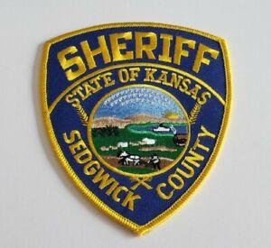 Sedgwick County Kansas Sheriff Shoulder Patch