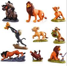 9 Lion King Simba Mufasa Hyenas Pumbaa Kids Action Figures Cake Topper Toys