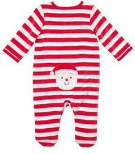 SALE Infant 6 Months Holiday My First Christmas Santa Applique One Piece NWT