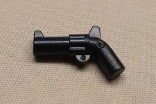NEW Lego Guns Rifle Pistol Revolver Minifig Weapon 4 Army Guys BLACK
