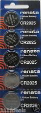 Renata Watch battery CR 2025  5 Pk