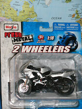 1/18 MAISTO HONDA CBR 600F4i FRESH METAL 2 WHEELERS MOTORCYCLES *BRAND NEW*