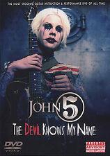 John 5 il diavolo sa il mio nome CHITARRA DVD impara a giocare
