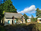 FRENCH COTTAGE £35,000 + carp pond+building land UK PROPERTIES EXCHANGED TOO!