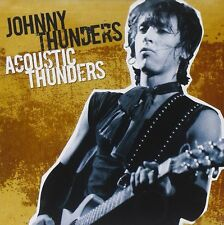 Johnny Thunders Acoustic Thunders Live CD NEW SEALED 2008 New York Dolls