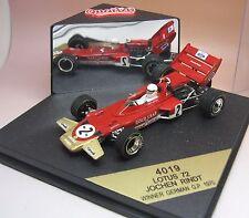QUARTZO LOTUS 72 JOCHEN RINDT winner German GP 1970  F1 BOITE D'ORIGINE 1/43