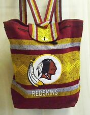 Backpack or Tote Washington Redskins Handmade in Mexico Red and Gold Polyester
