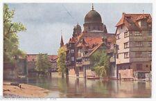 AK Nürnberg --Synagoge mit Wasserpartie-- um 1910