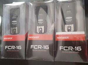 Neewer FCR-16 Flash/Strobe Trigger. X3 Bundle.