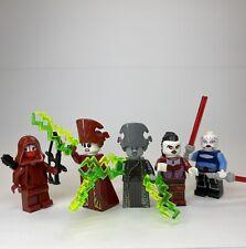 LEGO STAR WARS NIGHTSISTER LOT JEDI TEMPLE GUARD VENTRESS TALZIN DOOKU GRIEVOUS