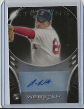 Allen Webster 2013 Bowman Sterling RC Auto..BOSTON RED SOX!!!
