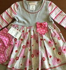 NWT BONNIE JEAN GIRLS DRESS WITH BLOOMERS SIZE 24 MONTHS MSRP $48.00
