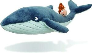 Aurora The Snail And The Whale Wild Blue Plush Soft Toy Children Cuddly Bedtime
