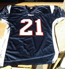 NEW ENGLAND PATRIOTS FOOTBALL TEAM JERSEY #21 MENS L / XL BLANK - NO NAME - NEW