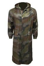 LADIES 100% WATERPROOF WINDPROOF LONG JACKET over knee zip mac hood trench coat