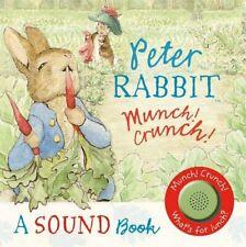Peter Rabbit: Munch! Crunch! A Sound Book-Beatrix Potter
