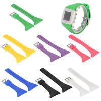 Armband Uhrenarmband Ersatzband Silikon Sport für POLAR FT4 FT7 Fitness Uhren