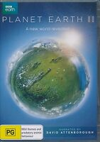 BBC Earth Planet Earth II DVD NEW David Attenborough Region 4