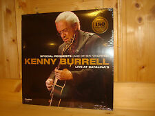 KENNY BURRELL Special Requests Live at Catalina´s Audiophile HIGHNOTE 180g LP SS
