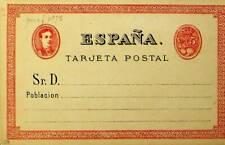 SPAIN 5 CENTS UNUSED POSTAL STATIONERY CARD