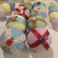 Decortive Large  bath bombs in ocean lavander lemon and tea tree! all natural!