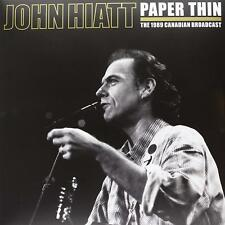NEW John Hiatt - Paper Thin [Ltd. Ed.] (2 Vinyl LPs, Sep-2013, LETV093LP)