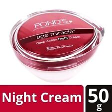 2 Pond's Age Miracle Deep Action Night Cream, 50 g Free Shipping World wide