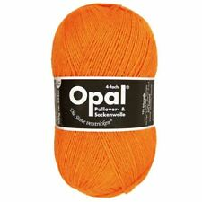 "Opal ""Uni"" Solid Sock Yarn - Neon Orange (2013)"